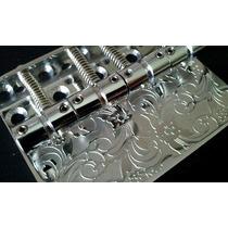 Ponte + Control Plate + Neck Plate Em Inox Para Jazz Bass