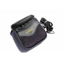 Bolsa Case Câmera Digital Sony Nikon Canon Todas As Marcas