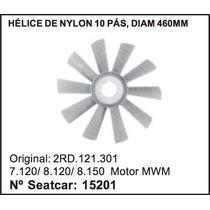 Helice Radiador Vw Caminhao 7-120 8-120 8-150 10 Pás 460mm