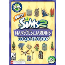 Game Pc The Sims 2 - Mansoes E Jardins - Original Novo