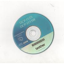 Cd De Instalacao Da Impressora Dcp-j125-j315 Ew 001