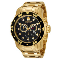 Relógio Invicta Scuba Diver 0072 Ouro 18k! Original Garantia