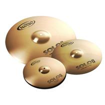 Set De Pratos Orion Fast Hand 14/16/20 Com Bag - Solo Pro