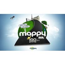 Atualização Igo Primo 2.4 Mappy Frete Gratis Lançamento!