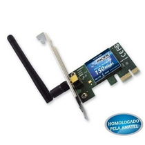 Adaptador Placa De Rede Pci Express Wireless Wifi 150 Mbps