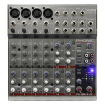 Am125fx: Mesa De Som 12 Canais Am 125 Fx - Phonic
