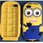 Case Minions P/ Iphone 5/5s E Galaxy S3