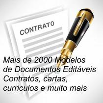 Modelos Contratos, Cartas, Memorandos, Avisos, Mais De 2000