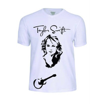 Camisas Camisetas Taylor Swift Banda Rock Baby Look Rap Pop