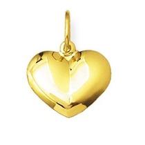 Pingente Coração De Ouro 18k Com Certificado