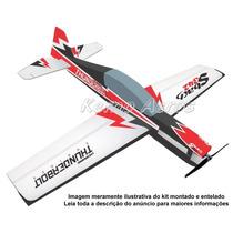 Aeromodelo Sbach 342 3d Kit Para Montar Isopor P3 Kemp Aeros