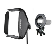 Softbox P/ Flash Speedlite Universal 60x60 Canon Nikon Sony