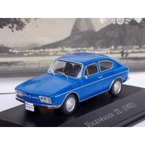 Miniatura Vw Tl Carros Inesquecíveis Do Brasil + Revista