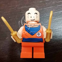 Kuririn Dragon Ball Z - Decool Compatível Com Lego