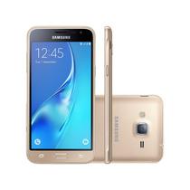 Celular Samsung Galaxy J3 2016 Smj320m Dourado