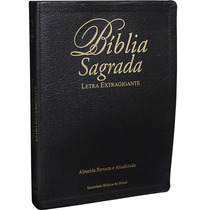 Bíblia Sagrada Letra Extra Gigante Almeida (ra) C/ Indice