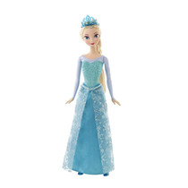 Boneca Princesa Elsa - Brilhante Disney Frozen Mattel