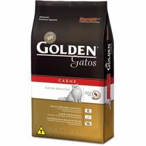 Ração Gatos Ad Golden Premium Especial Carne 10kg
