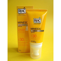 Roc Minesol Antioxidant Serum Fps 30 50g Oil Free