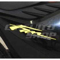 Adesivos Faixas Tuning Completo Moto Honda Fan 150 2012