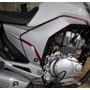Adesivo Tuning Tampa Lateral Moto Honda Fan Titan 150 > 2014