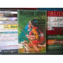 Livro Robinson Crusoé - Daniel Defoe Adp. Monteiro Lobato