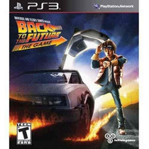 Back To The Future: The Game - Ps3 - De Volta Para O Futuro