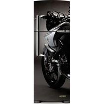 Adesivo Geladeira Moto # 12 (porta Duplex)