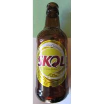 Garrafa Cerveja Skol 300ml - Vazia - Sk2