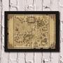 Poster Com Moldura Harry Potter - Map