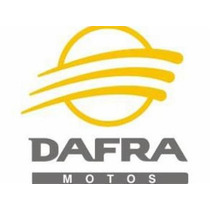 Bico / Tampa Cromado De Roda/pneu Para Moto Logo Dafra !!
