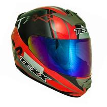 Capacete Texx Bravo Assert Duas Viseiras Cg Titan Racing