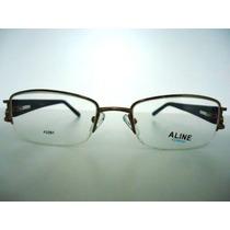 Armação Óculos Grau Feminino Animal Print A2091 Frete Grátis