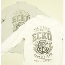 Ecko Unltd Camisa Botão Casual Social Moderna Jovem Original
