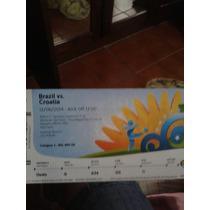 Ingresso Brasil X Croácia Abertura Da Copa 2014