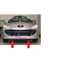 Saia Spoiler Bigode Inferior Parachoque Dianteiro Peugeot207
