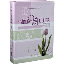 Bíblia De Estudo Da Mulher Tulipas - Grande + Protetor Capa
