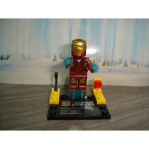 Iron Man Tony Stark Homem De Ferro Vingadores Heroes Lego