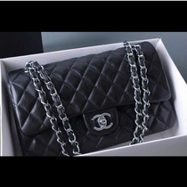 Chanel 2.55 Classic Double Flap Black!100% Autentica