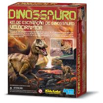 Kit De Escavação De Dinossauro - Velociraptor