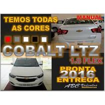 Cobalt Ltz 1.8 Flex Manual Ano 16/16 - 0 Km - Pronta Entrega