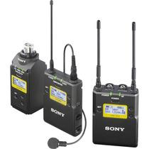 Microfone Sony Uwp-d16 Lapela Sem Fio Plug On De Mão C/adapt