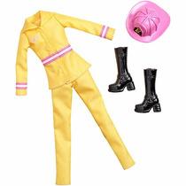 Roupas E Acessórios Barbie Profissão - Mattel