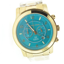 Relógio Michael Kors Mk8315 Turquesa 12 X S/juros