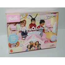 Barbie Happy Family Neighborhood 3 Babys Nao Gravida Brasil