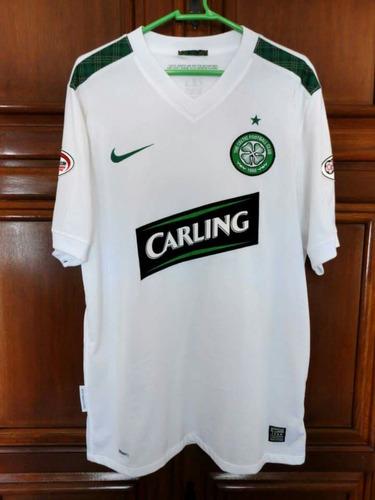 3d50c0cc8 Linda Camisa Celtic Away 2009/2010 #4 Mcmanus Spl Patches M. R$ 199.9