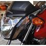 Adesivo Relevo Carenagem Frontal Moto Honda Fan Titan > 2014