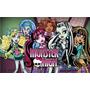 Painel Para Festas. Lona Banner Monster High
