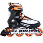 Patins In Line Roller B Xtreme 5000 - Laranja - Loja Koncept