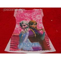 Vestido Infantil 6 A 9 Anos Frozen